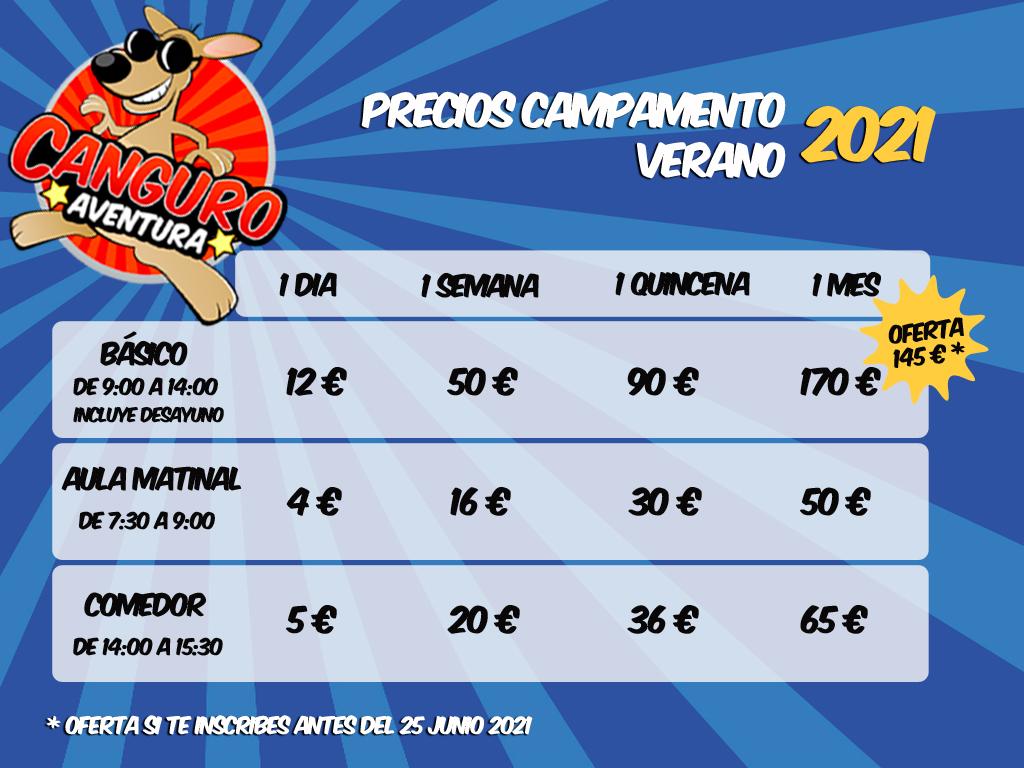 precios_campamento_verano21