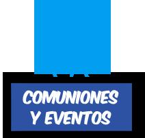 comuniones y eventos
